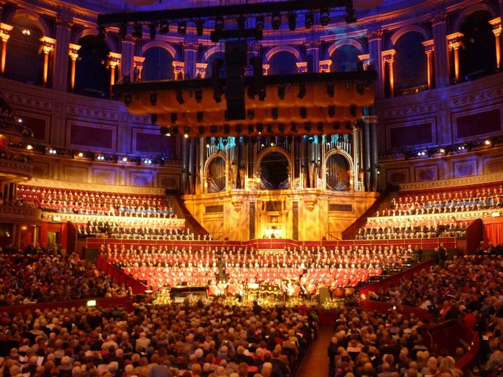 New Songs at the Royal Albert Hall