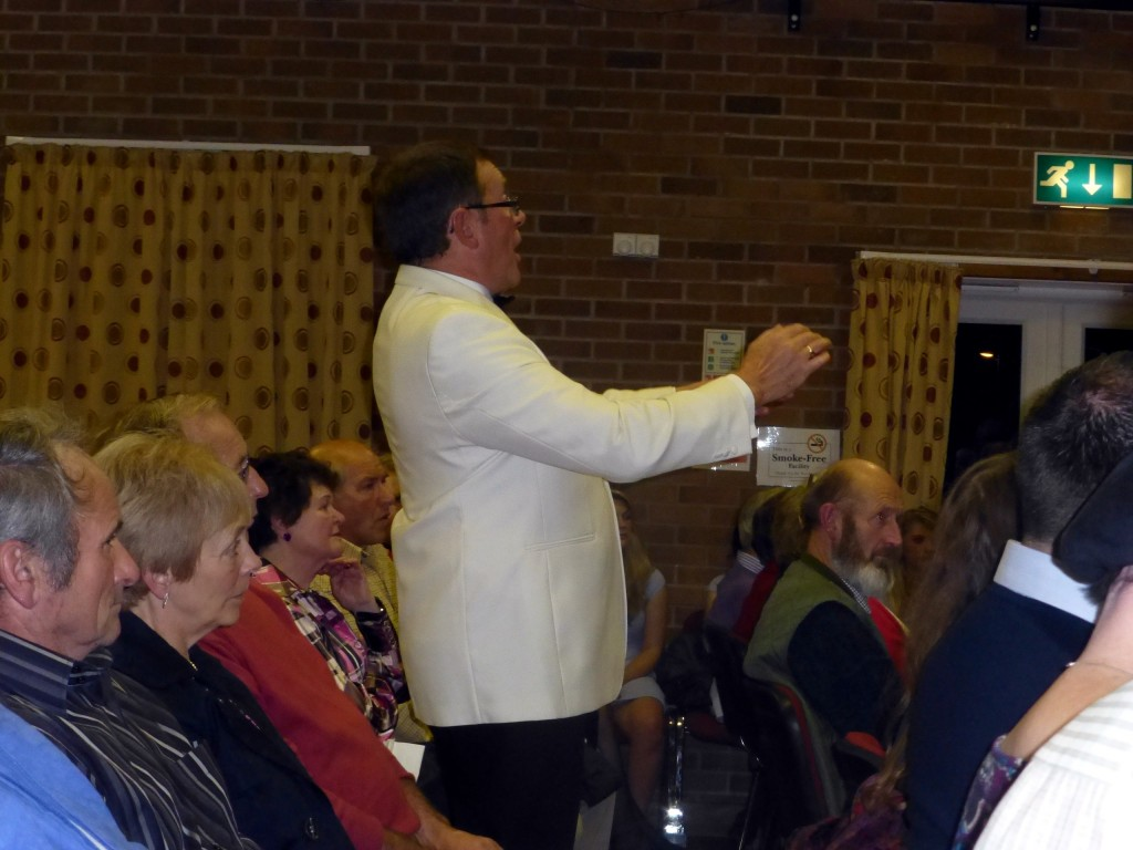 Arwyn Roberts conducts at Dolfor