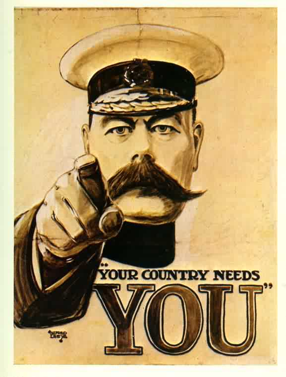 Wartime Songs Plead Your Country Needs You