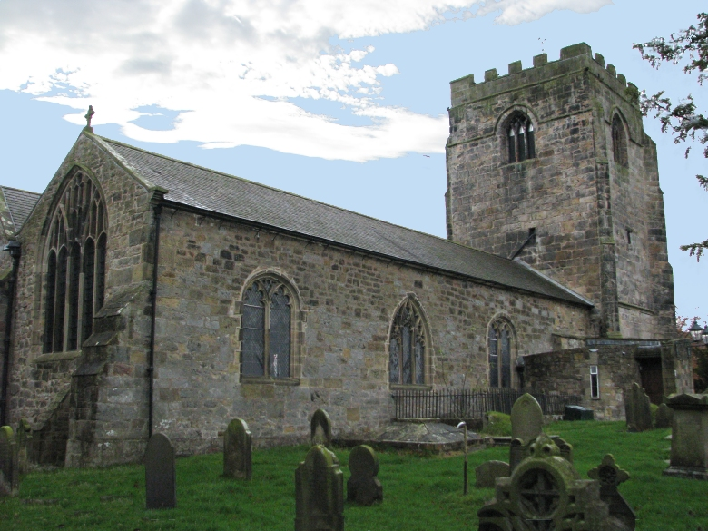 Wedding of John and Claire at St Cynfarch's Church, Hope