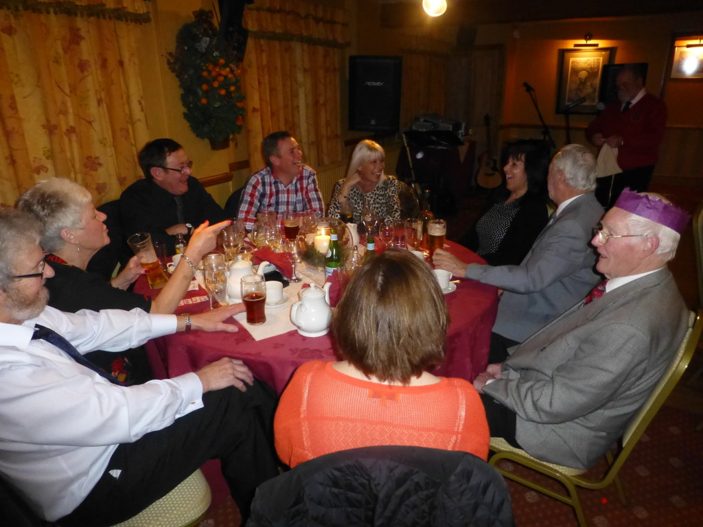 Socialising at the Choir Annual Dinner