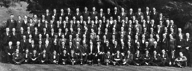 Pendyrus Male Voice Choir circa 1920