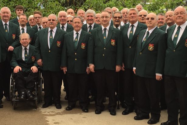 Blaenavon MVC in a scene from 'Save our Male Voice Choirs'