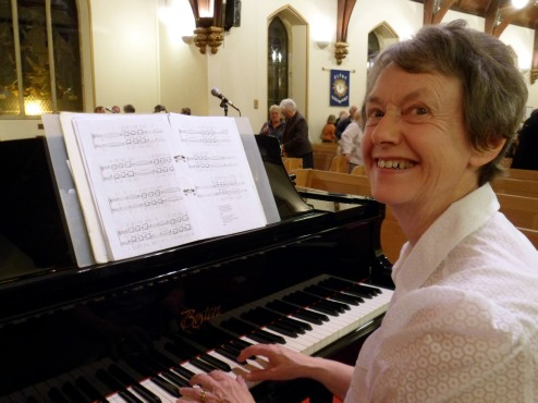 Joyce Davies at the Piano