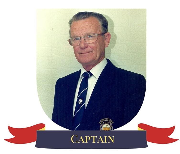 Alyn Lloyd Golf Club Captain