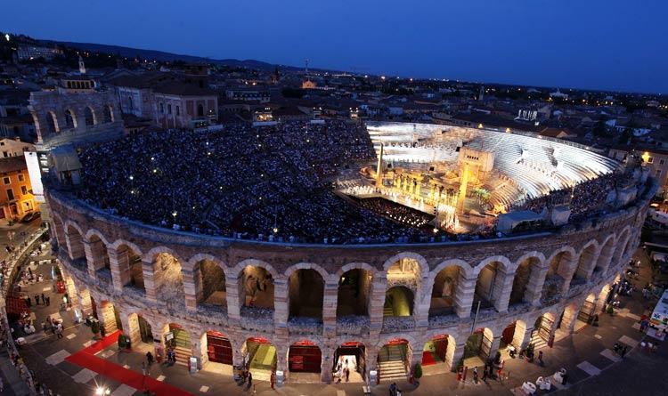 Opera at Arena de Verona