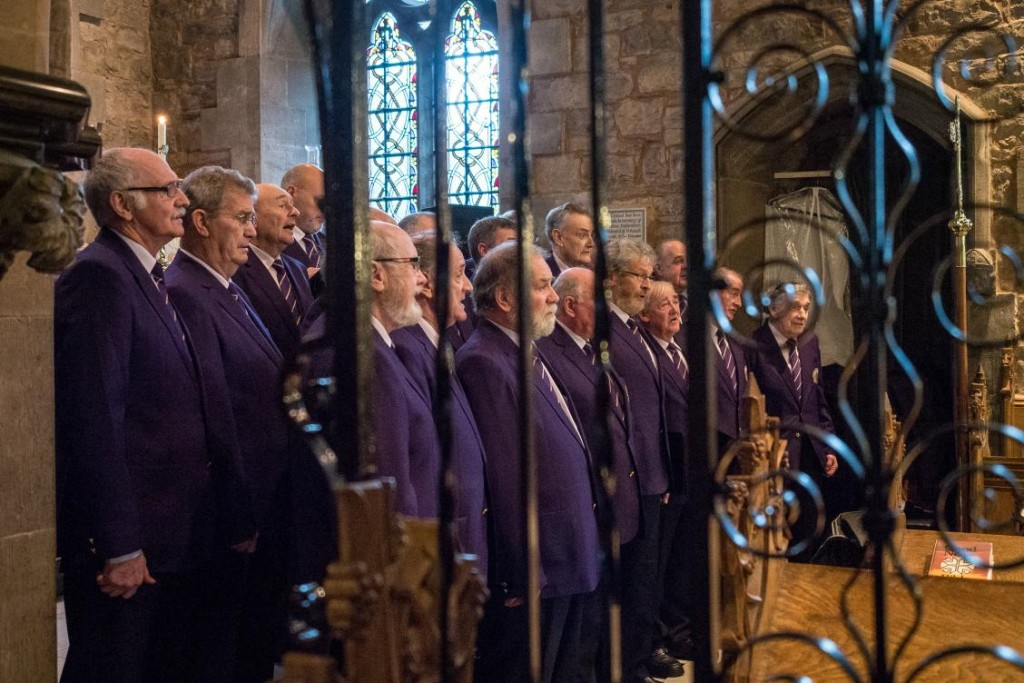 The Choir at the Wedding of Rhian and James