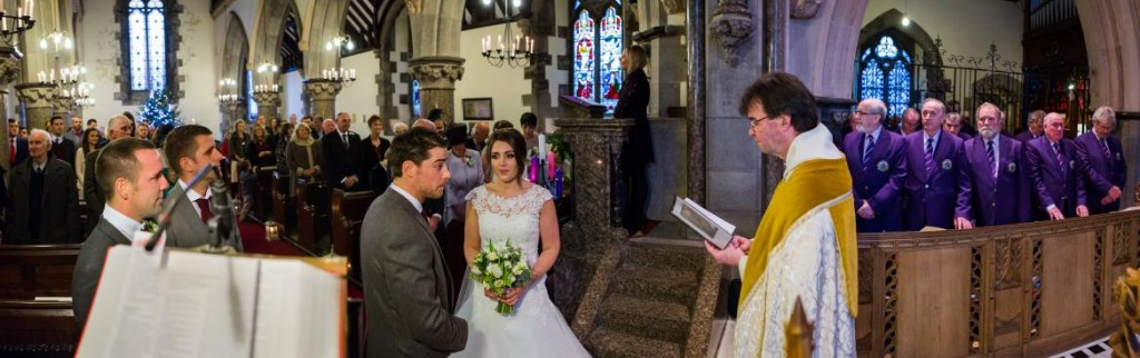 Wedding Service of Rhian and James