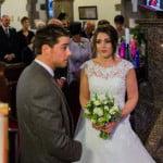 James and Rhian Wedding in Winter Sunshine