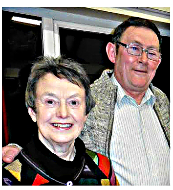Joyce Davies and Arwyn Roberts