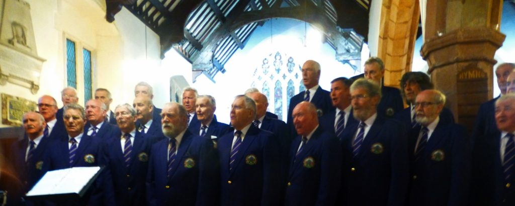 Choir at St Mary's Rhuddlan