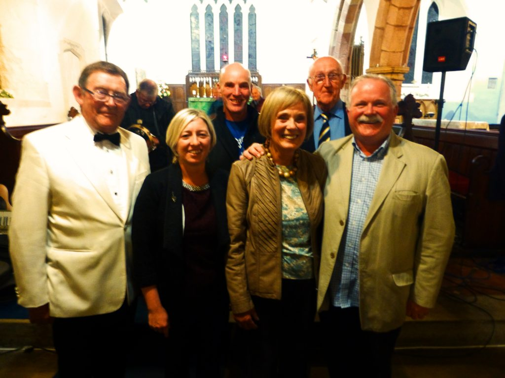 Arwyn, Nia, John Hand, Val, Allan and Alun Rhys