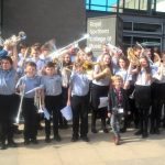 Choir and Denbighshire Youth Brass Band Unite for NSPCC