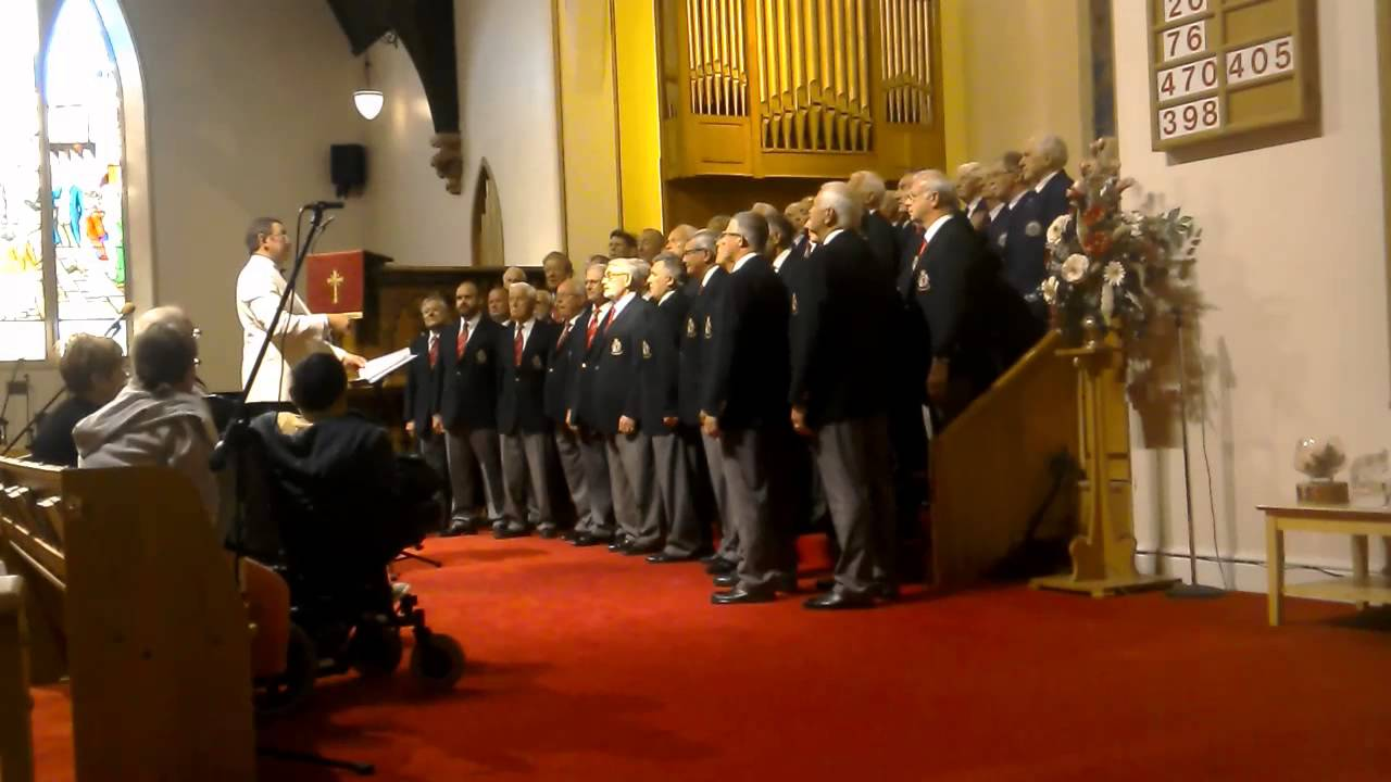 Joint concert with Avon and Somerset Constabulary Male Voice Choir at St.John's Church, Llandudno, 27th June 2015.