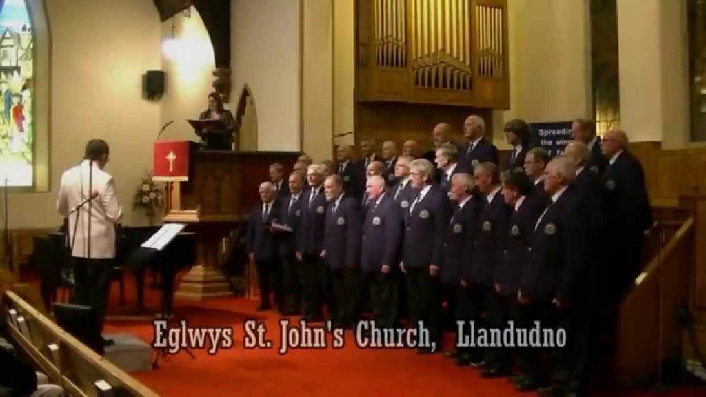 Denbigh and District Male Voice Choir and Kathryn Nash, Mezzo Soprano in Concert at St John's Church, Llandudno.