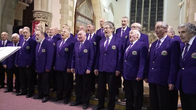 Choir at Gala Concert A Night to Remember