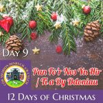 The Twelve Days of Christmas in Song – Day 9
