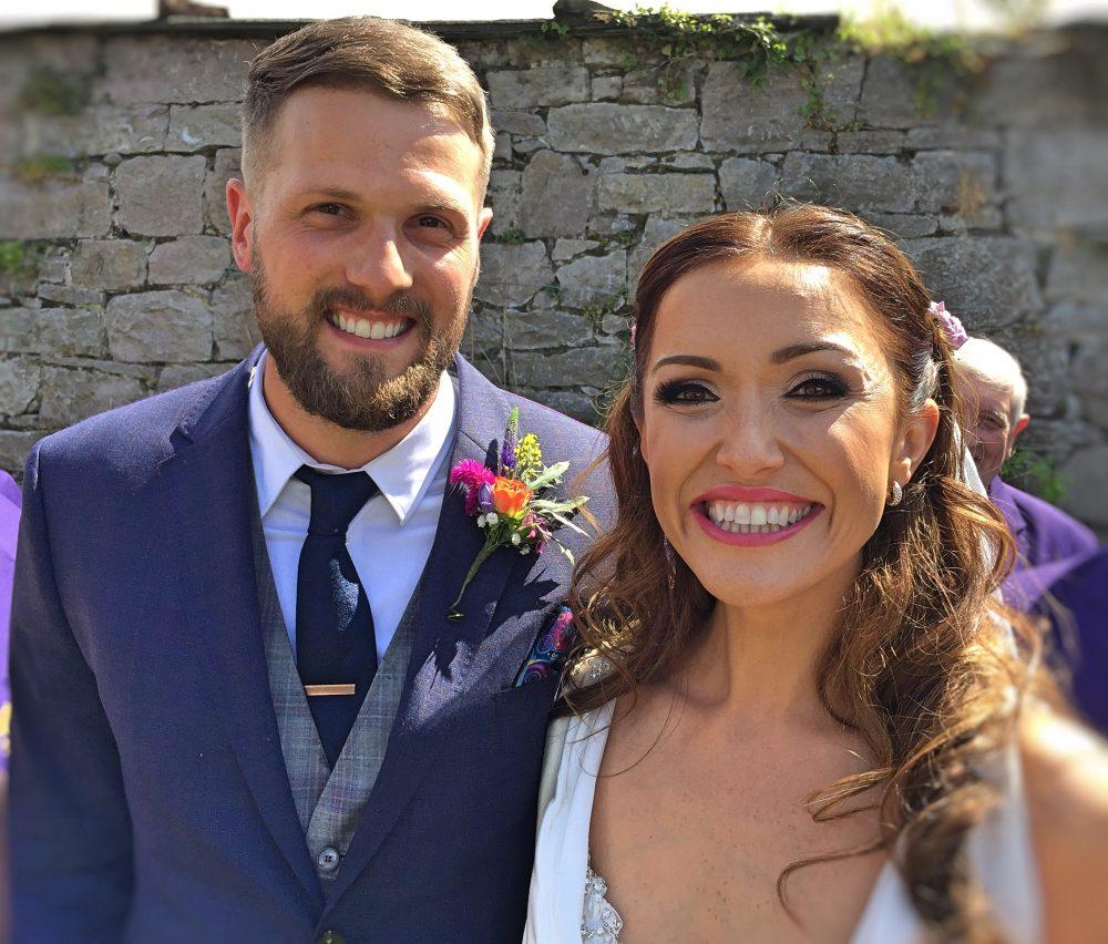 wedding of Natalie and Jamie