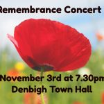 Remembrance Concert at Denbigh
