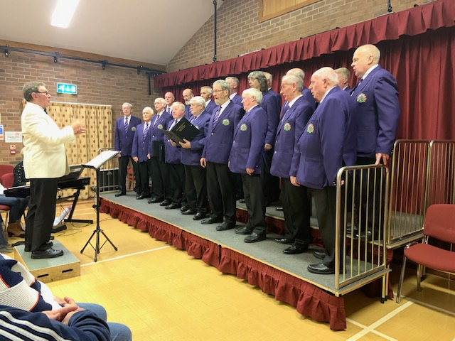 Choir return to Dolfor