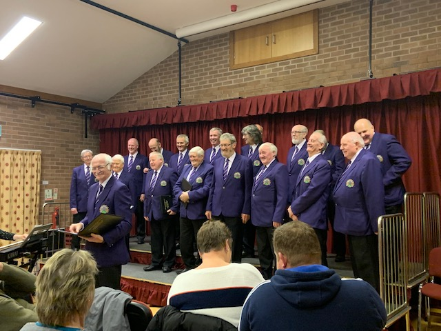 Choir return to Dolfor